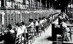 Opératrices téléphoniques